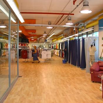 Scaffalatura per negozi, supermercati e ipermercati